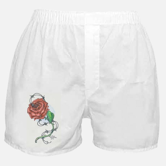 Lexi's Rose Boxer Shorts