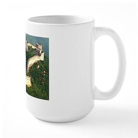 Great Wall Large Mug