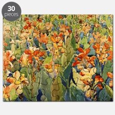 Maurice Prendergast Bed Of Flowers Puzzle