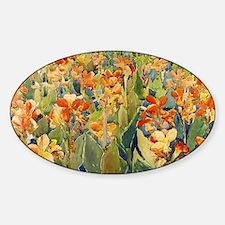 Maurice Prendergast Bed Of Flowers Decal