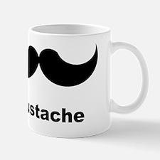 black mustache shirt Mug