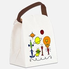 Out of This World Canvas Lunch Bag