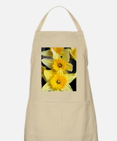 Daffs in a line Apron