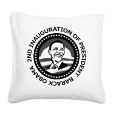 2nd Inauguration: Square Canvas Pillow
