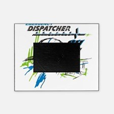 911 Dispatcher, blue and green Picture Frame