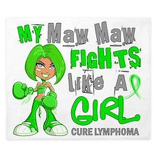 D Maw Maw Fights Like Girl Lymphoma 42. King Duvet