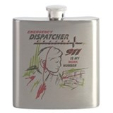 911 dispatcher Flasks