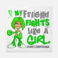 D Friend Fights Like Girl Lymphoma 42. Queen Duvet
