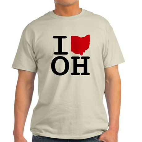 I Heart Ohio Light T-Shirt