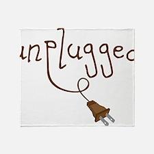 Unplugged Throw Blanket