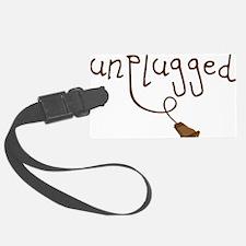 Unplugged Luggage Tag