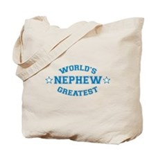 World's Greatest Nephew Tote Bag