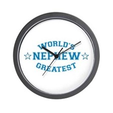 World's Greatest Nephew Wall Clock