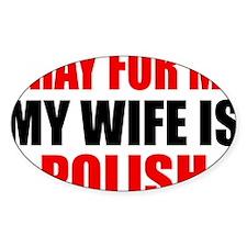 Pray Wife Polish Decal