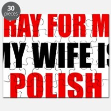 Pray Wife Polish Puzzle