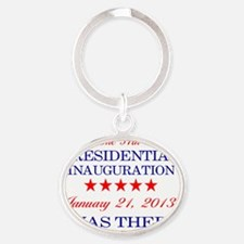 I Was There: Oval Keychain