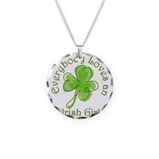 Everybody Loves an Irish Gir Necklace