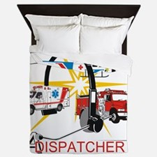 Dispatchers lead the way Queen Duvet