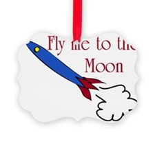 Fly me to the Moon Ornament