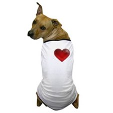 I Heart Cape Breton Island Dog T-Shirt