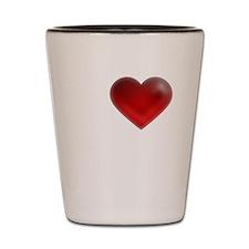 I Heart Cape Breton Island Shot Glass