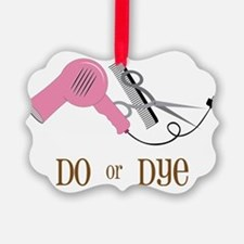 Do Or Dye Picture Ornament