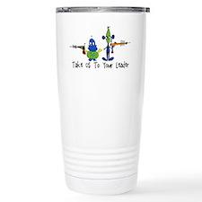 Take Us To Your Leader Travel Mug