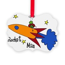 Rocket Man Ornament
