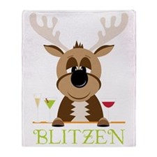 Blitzen Throw Blanket