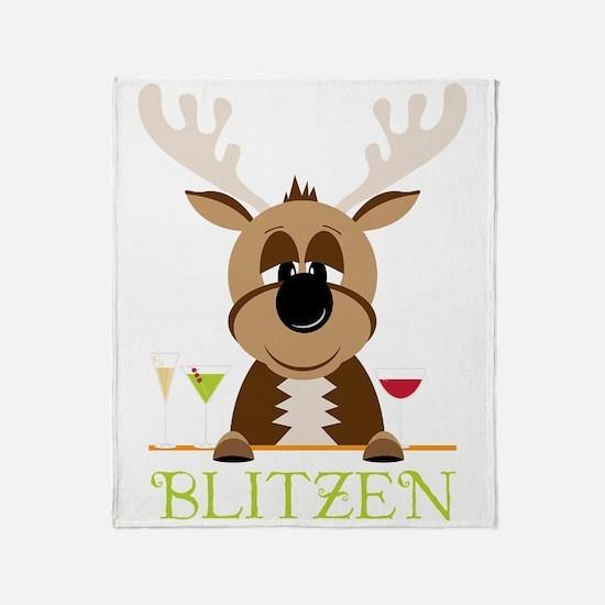 Blitzen Throw Blanket