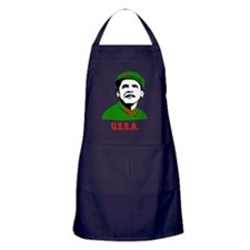 USSA Communist Obama Republican Apron (dark)
