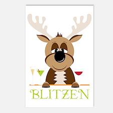 Blitzen Postcards (Package of 8)