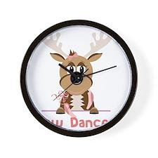 Now Dancer Wall Clock