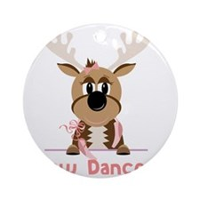 Now Dancer Round Ornament