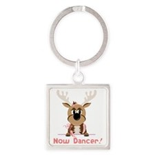 Now Dancer Square Keychain