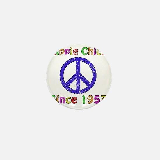 1953 Hippie Chick Mini Button