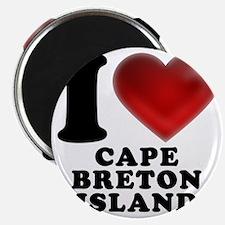 I Heart Cape Breton Island Magnet