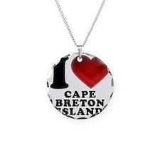 I Heart Cape Breton Island Necklace