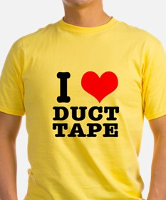 I Heart (Love) Duct Tape T