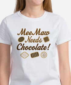 MeeMaw Chocolate Women's T-Shirt