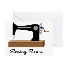 Sewing Room Greeting Card