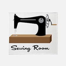 Sewing Room Throw Blanket