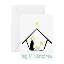 My 1st Christmas Greeting Card