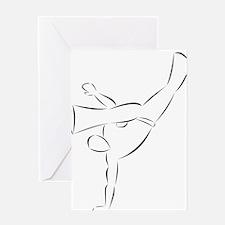 Capoeira- Au Batido Greeting Card