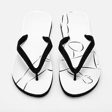 Capoeira- Au Batido Flip Flops