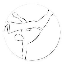 Capoeira- Au Batido Round Car Magnet