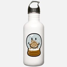 Snow Deco Smiley Water Bottle