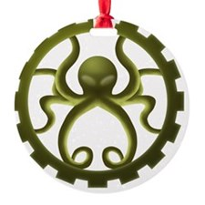 octo-gear (green) Ornament