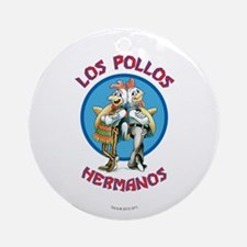 Los Pollos Hermanos Ornament (Round)