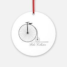 Bike Collector Round Ornament